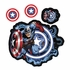 Decal Sticker - Car Truck SUV - Stick Onz - Marvel Comics - Captain America