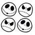 Decal Sticker - Car Truck SUV - Stick Onz - Nightmare Before Christmas - Jack