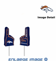 Antenna Topper - Car Pencil - Mini Foam Finger - Denver Broncos