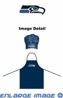 Apron & Chef Hat - BBQ Set - Seattle Seahawks