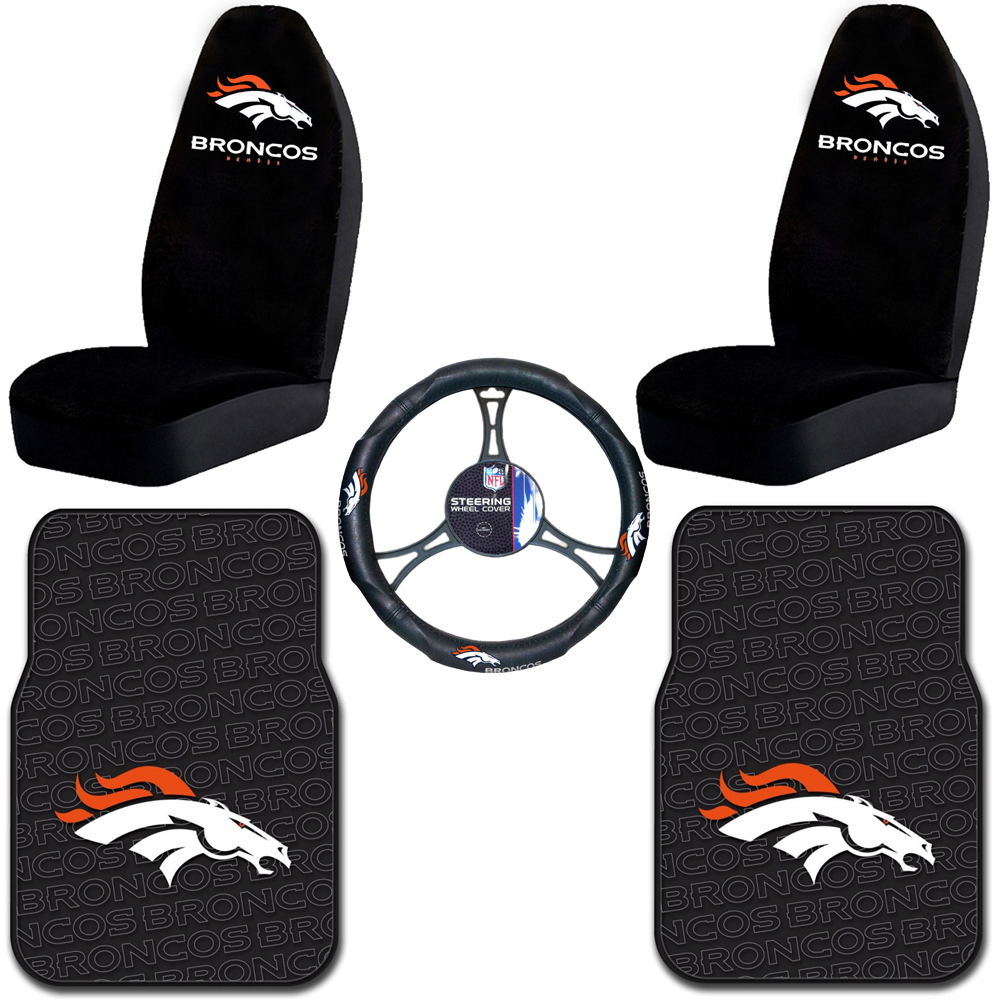 Denver Broncos Car Accessories - Ibizanewhaven