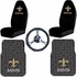 Auto Accessories Interior Combo Kit Gift Set - 5pc - NFL - New Orleans Saints