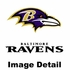 Bottle Cooler Koozie - Glitter Style - Baltimore Ravens