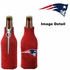 Bottle Cooler Koozie - Glitter Style - New England Patriots