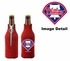 Bottle Cooler Koozie - Glitter Style - Philadelphia Phillies