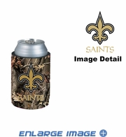 Can Cooler Koozie - Camo Style - New Orleans Saints
