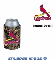 Can Cooler Koozie - Camo Style - St. Louis Cardinals