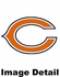 Can Cooler Koozie - Glitter Style - Chicago Bears