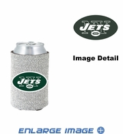 Can Cooler Koozie - Glitter Style - New York Jets