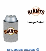 Can Cooler Koozie - Glitter Style - San Francisco Giants