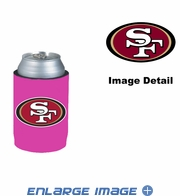 Can Cooler Koozie - Pink Style - San Francisco 49ers