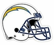 "Car or Fridge Magnet - Giant 12"" Size - San Diego Chargers"