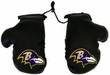 Car Rearview Mirror Mini Boxing Gloves - NFL Football - Baltimore Ravens