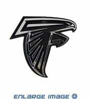 Car Trunk 3D Chrome Emblem - Atlanta Falcons