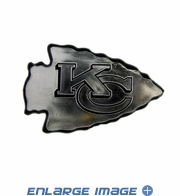 Car Trunk 3D Chrome Emblem - Kansas City Chiefs
