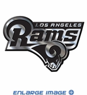 Car Trunk 3D Chrome Emblem - Los Angeles Rams