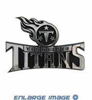 Car Trunk 3D Chrome Emblem - Tennessee Titans