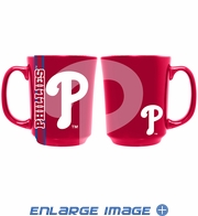 Ceramic Mug - 11oz Reflective Cup - MLB - Philadelphia Phillies