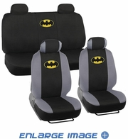 Combo Kit Gift Set - Automotive Interior - 9pc - Car Truck SUV - DC Comics - Batman - Logo