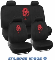 Combo Kit Gift Set - Automotive Interior - 9pc - Car Truck SUV - Red Dragon