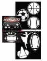Decal Kit - Car Truck SUV - Multi Sports - Bryce