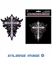 Decal Sticker - Car Truck SUV - Cling Bling - Cross