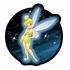 Decal Sticker - Car Truck SUV - Holographix - Disney - Fairies - Tinker Bell