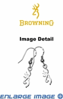 Earrings - Sterling Silver - Browning - PAIR