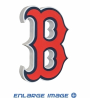 Foam Logo - 3D with Strap - Boston Red Sox
