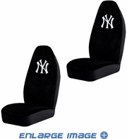 Front Car Truck SUV Bucket Seat Covers - MLB - New York Yankees - Pair