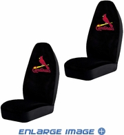 Front Car Truck SUV Bucket Seat Covers - MLB - St. Louis Cardinals - Pair