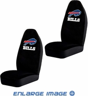 Front Car Truck SUV Bucket Seat Covers - NFL - Buffalo Bills - Pair