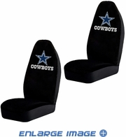 Front Car Truck SUV Bucket Seat Covers - NFL - Dallas Cowboys - Pair