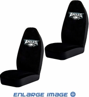 Front Car Truck SUV Bucket Seat Covers - NFL - Philadelphia Eagles - Pair