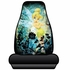 Front Universal Bucket Seat Covers - Car Truck SUV - Disney - Tinker Bell - Moody - PAIR