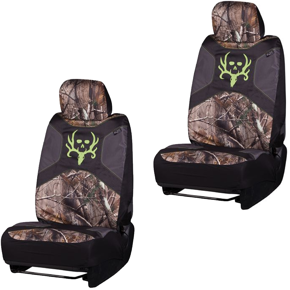 Front Car Truck Suv Low Back Bucket Seat Covers Camouflage