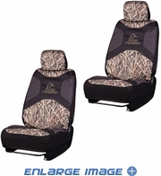Front Car Truck SUV Low Back Bucket Seat Covers - Camouflage - Ducks Unlimited - PAIR