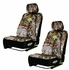 Front Car Truck SUV Low Back Bucket Seat Covers - Premium Neoprene - Camouflage - Bone Collector - PAIR