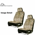 Front Car Truck SUV Low Back Bucket Seat Covers - Premium Neoprene - Camouflage - Ducks Unlimited - PAIR