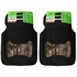 Front & Rear Seat Heavy Duty Trim-to-Fit Floor Mats - Car Truck SUV - Realtree Outfitters Camo