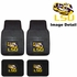 Front & Rear Seat Vinyl Floor Mats - Car Truck SUV - LSU Louisiana State University Fighting Tigers