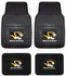 Front & Rear Seat Vinyl Floor Mats - Car Truck SUV - University of Missouri