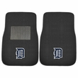 Front Seat Embroidered Carpet Floor Mats - Car Truck SUV - MLB - Detroit Tigers