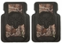 Front Seat Heavy Duty Trim-to-Fit Floor Mats - Car Truck SUV - Camouflage - Bone Collector