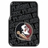 Front Seat Rubber Floor Mats - Car Truck SUV - FSU Florida State University Seminoles
