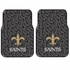 Front Seat Rubber Floor Mats - Car Truck SUV - New Orleans Saints