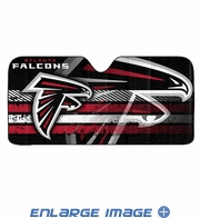 Front Windshield Sunshade - Accordion Style - Car Truck SUV - Atlanta Falcons