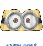 Front Windshield Sunshade - Accordion Style - Car Truck SUV - Despicable Me
