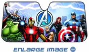 Front Windshield Sunshade - Accordion Style - Car Truck SUV - Marvel Avengers - Universe