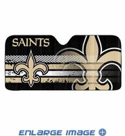 Front Windshield Sunshade - Accordion Style - Car Truck SUV - New Orleans Saints